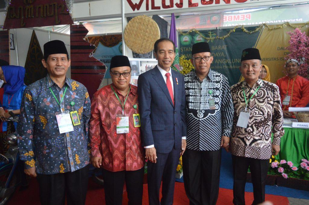 Kehadiran Bapak Joko Widodo (presiden RI) ke unisma