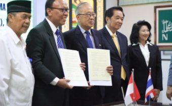 Eratkan Kerjasama Internasional, Unisma Gandeng UTK Thailand