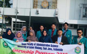 Menuju World Class University, FIA Unisma Malang Gelar Intership Program 2019 di Brunei Darussalam