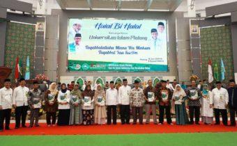 Sebagai Penghormatan, Unisma Abadikan Nama Prof Dr KH Muhammad Tholhah Hasan.