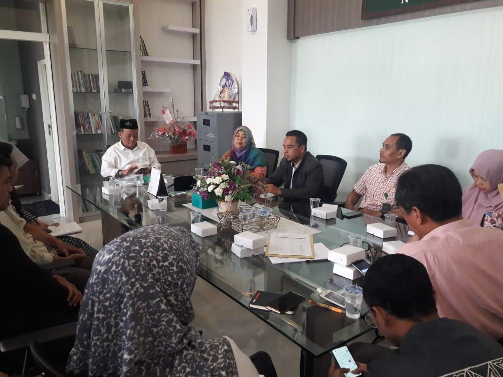 Rapat Evaluasi dan Perencanaan dalam Rangka Peningkatan Kinerja Kepala TU Pascasarjana, Fakultas, Perpustakaan, dan LPPM