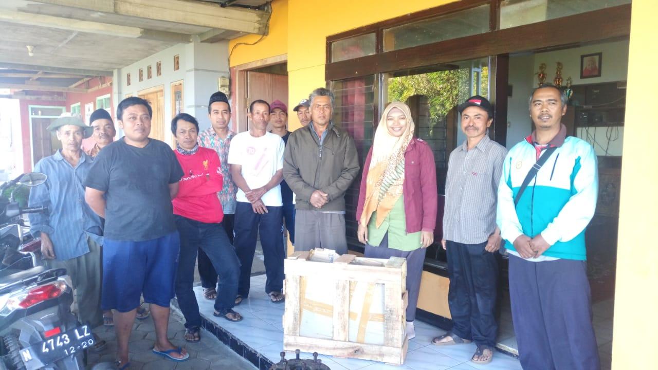 Dosen Fakultas Teknik UNISMA Membangun Sarana Penyedia Air Bersih dengan Pompa Tanpa Listrik di Desa Gunungsari