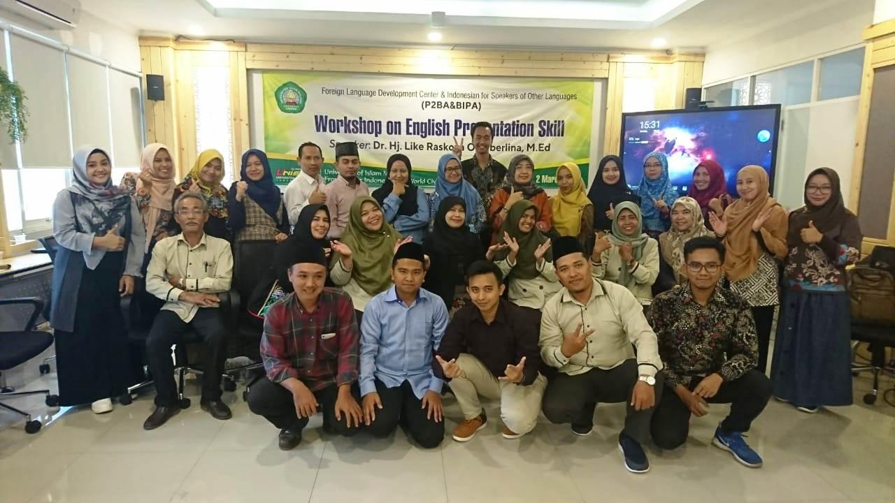 P2BA Unisma Malang Gelar Workshop on Presentation Skill