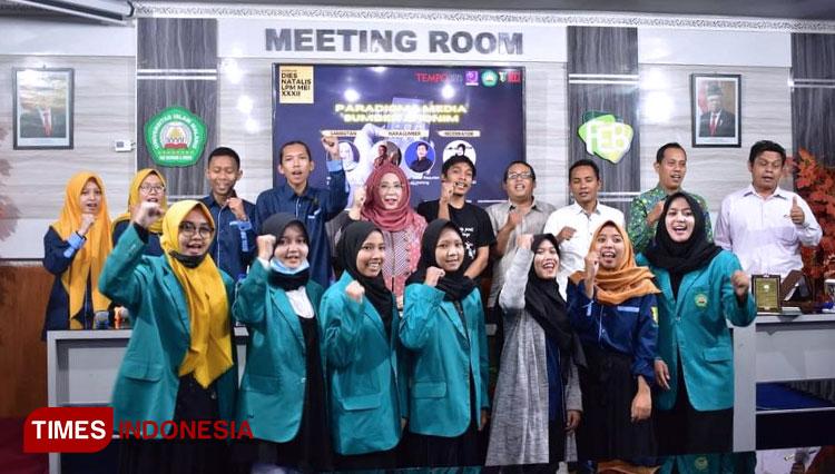 Mahasiswa FEB Unisma Malang Kupas Tuntas Peran Media Terhadap Sumber Anonim