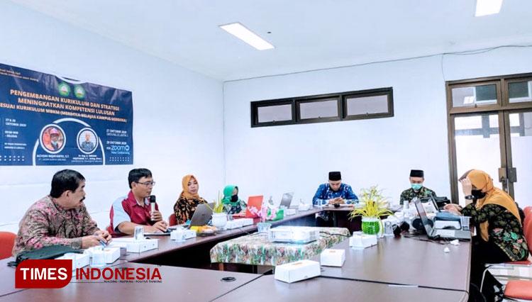 Fakultas Teknik Unisma Malang Terima Hibah Kerja Sama Kurikulum MBKM dari Dirjen DIKTI