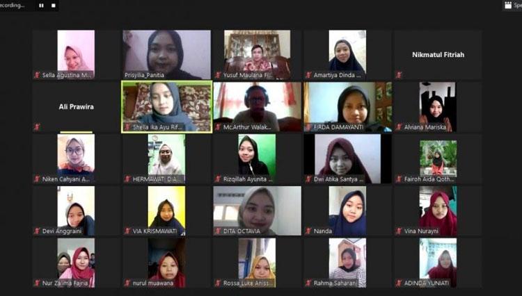 """Masa Pandemi, UKM Seni Tari Unisma Malang Gelar Webinar """"Styling Match With Matching Tone"""""""