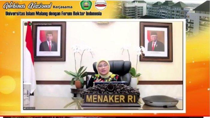 UU Cipta Kerja Jadi Bahasan di Webinar Forum Rektor Indonesia dan Unisma