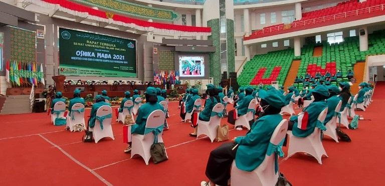 4.527 Mahasiswa Baru Unisma Ikuti Oshika Maba Hybrid
